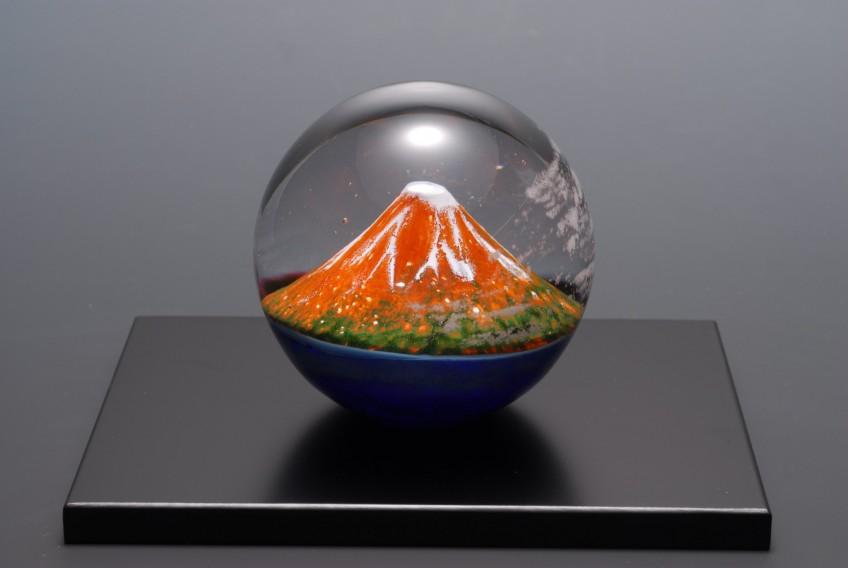 【北斎珠】  葛飾北斎×ガラスアート